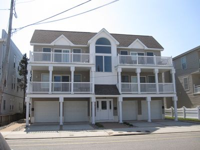 Photo for Top Floor Four Bedroom Unit with Garage, just one block to the BEACH