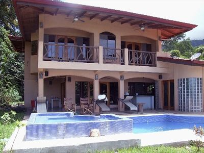View of House with Private Pool and Jacuzzi