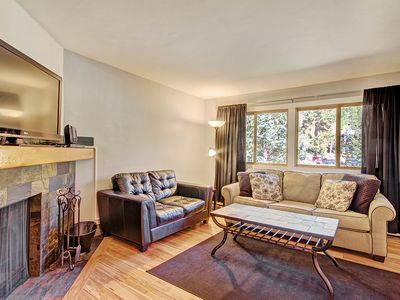 Photo for Cozy 2 Bedroom Condo, Short Walk To Town! - Forest Haus 112 by SkyRun