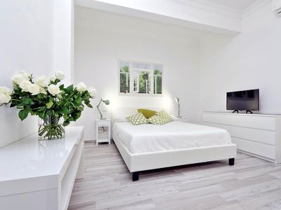 Photo for San Sebastianello Studio apartment in Piazza di Spagna North with integrated air conditioning.