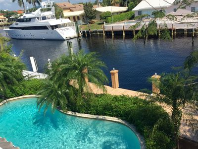 Photo for Waterfront with Boat Dock Luxurious Oasis By The Beach