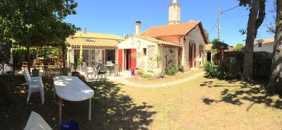 Photo for Nice villa near market center and two beautiful beaches 300m max
