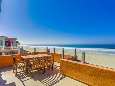 Photo for Panoramic Ocean Views w/ Air Conditioning and an Expansive Oceanfront Deck