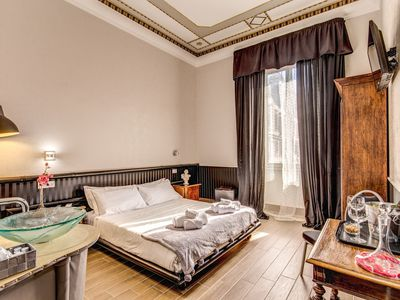 Photo for SUPERIOR DOUBLE ROOM 306 AT B & B SUITE ROME VENETO
