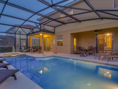 Photo for Stunning Home With Large Poo/Spa and Lanai! Ideal For Multi Family Stays