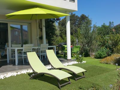 Photo for BEAUTIFUL T3 NEW Calm, Garden, Terrace, View Mountain, Trade 7 mn on foot.