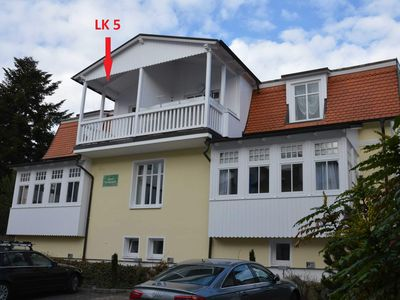 Photo for 2-room apartment - Apartment House Liebeskind 80 in Ostseebad Binz
