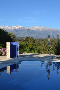 Photo for Villa with Private pool, Stunning Sea & Mountain Views - free wifi  & air con