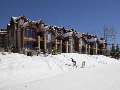 Photo for LE PRAZ - Mountain Village, Luxury Townhome, Ski In/Out, Movie Theatre, Hot Tub