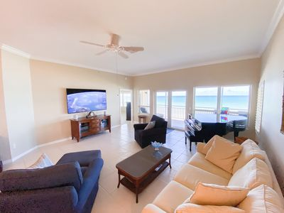 Photo for 3 BR Beach Villa Penthouse - On the Beach with THE Best Ocean Views