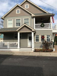 Photo for Only 6 blocks to the beach or shopping. Bike ride to Lighthouse or Sunset Beach.