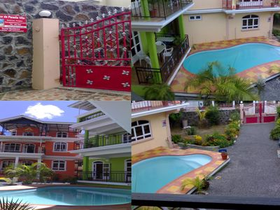 Photo for Camille Apartments located two minutes walk from the beach of Pereybere