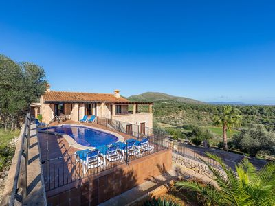 Photo for Villa with Pool and Panoramic View - Cas Pobler