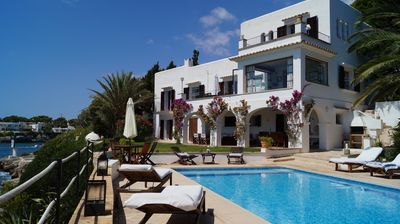 Photo for Superb Waterfront Old Style Villa with Large Private Pool and direct Sea Access!