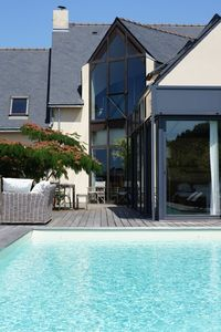 Photo for Exceptional villa overlooking the salt marshes with pool close to La Baule