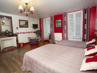 Photo for French gîte / Bed and Breakfast Les passiflores for 6 people