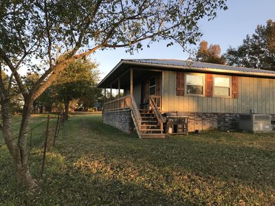 Photo for Cabin At Lost Creek! Country Serenity Close To Town... Best Of Both Worlds.