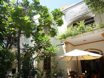 Photo for Moon house tropical garden 5 minutes to the beach in Nha Trang
