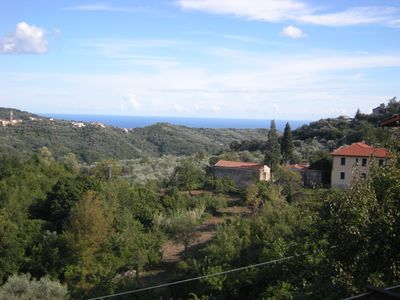 Photo for House, sea view, garden, away from mass tourism, Riviera,