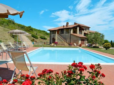 Photo for Vacation home Valle Dorata (MVC257) in Montecatini Val di Cecina - 4 persons, 1 bedrooms
