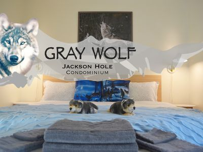 Photo for Gray Wolf – your cosy 'Den' to outdoor adventures and ski vacations.