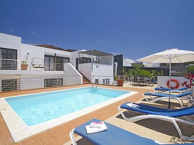 Photo for Private Luxury Villa Stunning Sea Views Heated Pool 50yards To Sea And Promenade