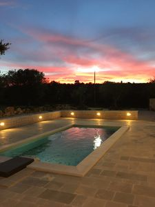 Photo for Villa with pool, surrounded by the green countryside of Alberobello and Martina F ..