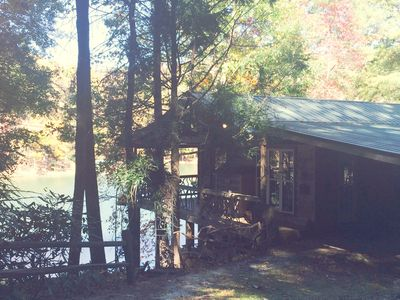 Your Cozy Lake Front Cabin In The Desirable Vrbo
