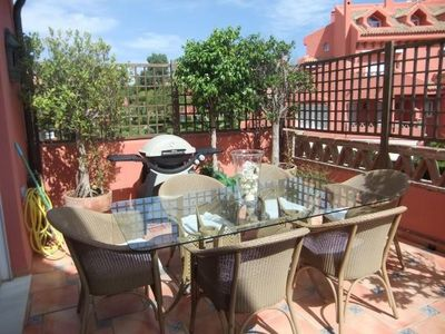 Photo for 5* PENTHOUSE ON THE BEACH ELVIRIA/MARBELLA  CTC - 2016122142