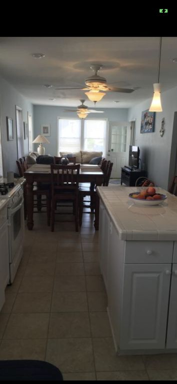 3 bedroom on first floor with patio
