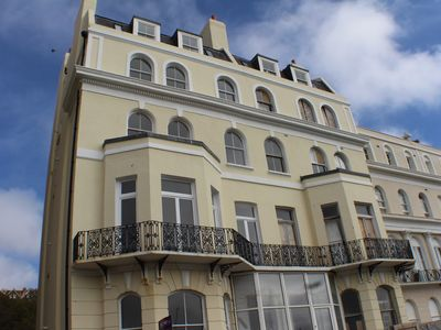 Photo for Stylish seaview flat 7 in Grade 2 listed house