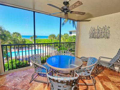 Great Gulf and Pool View, Two Bedroom Condo on Sanibel Island - Tarpon Beach 205
