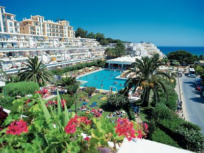 Photo for T1 up to 4 people-Albufeira 100 mts Beach with 3 pools- de LUXO