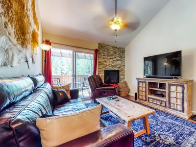 Photo for Ideally located mountain retreat near skiing, golf & fishing