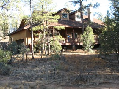 Photo for Luxury Vacation Home in the Spectacular White Mountains 4 bedroom 2 bath sleep/8