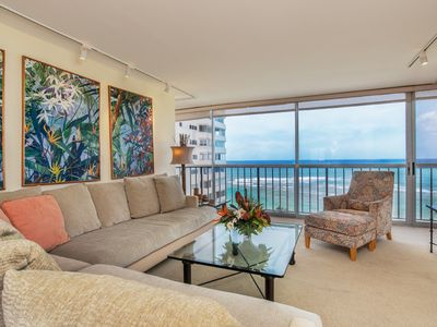 "Photo for "" DANN0'S HAWAII FIVE-0 CONDO"", Panoramic Ocean View"