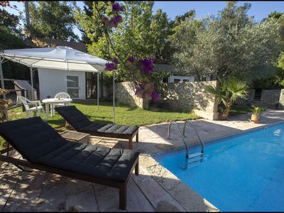 Photo for Cozy & Private Pool House in Jerusalem Area