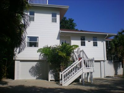 Florida style front of Beach House