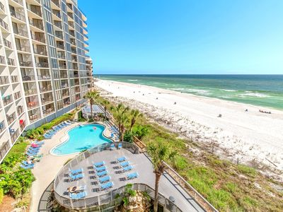 Photo for ☀Edgewater Tower 3-412☀BeachFRONT for 8! Remodeled! Aug 24 to 27 $854 Total!