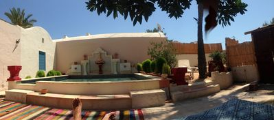 Photo for Small House in DJERBA MIDOUN town with pool in a park of 3500 m2