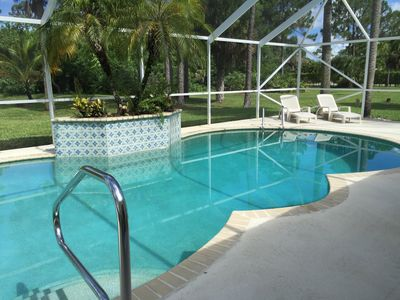 Photo for Cozy home with pool in a big property