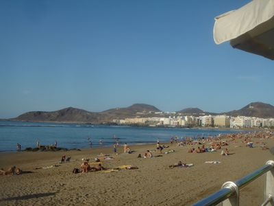 Photo for Apartment near Las Palmas fine beach of Las Canteras.