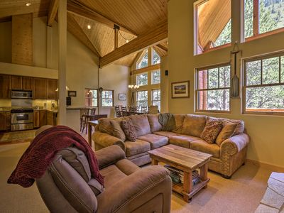 Photo for Cozy Alpine Meadows Townhome on the Truckee River!