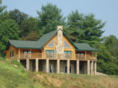 Asheville Log home
