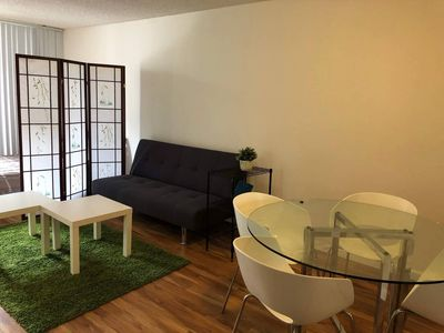 Photo for Charming View and Cozy Apartment by Hollywood Walk of Fame