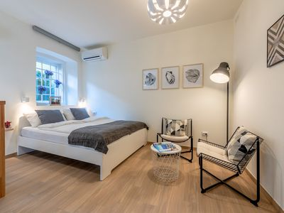 Photo for NEW!!!  Luxury apartment in the heart of the old town - 1 bed / 1 bath / WIFI / AC
