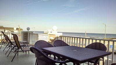 Photo for Amazing Penthouse at the beach! Elevator, Garage, 180* Ocean Views, On Boardwalk