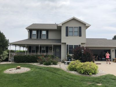 Photo for EAA Vacation rental home. 4 Bedroom 3.5 bath. 15 Minutes from EAA Oshkosh