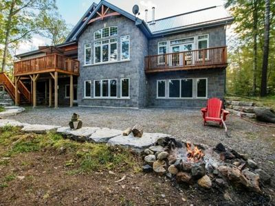 Photo for Stunning 4 bedroom cottage on Long Lake