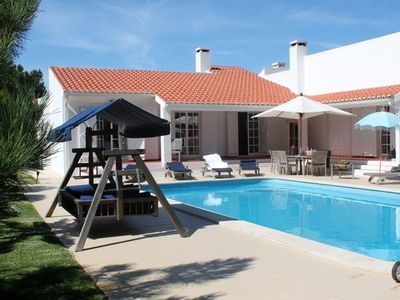 Photo for Books, Sun, Swing Bed, Heated Private Pool And Spacious Garden For You To Enjoy
